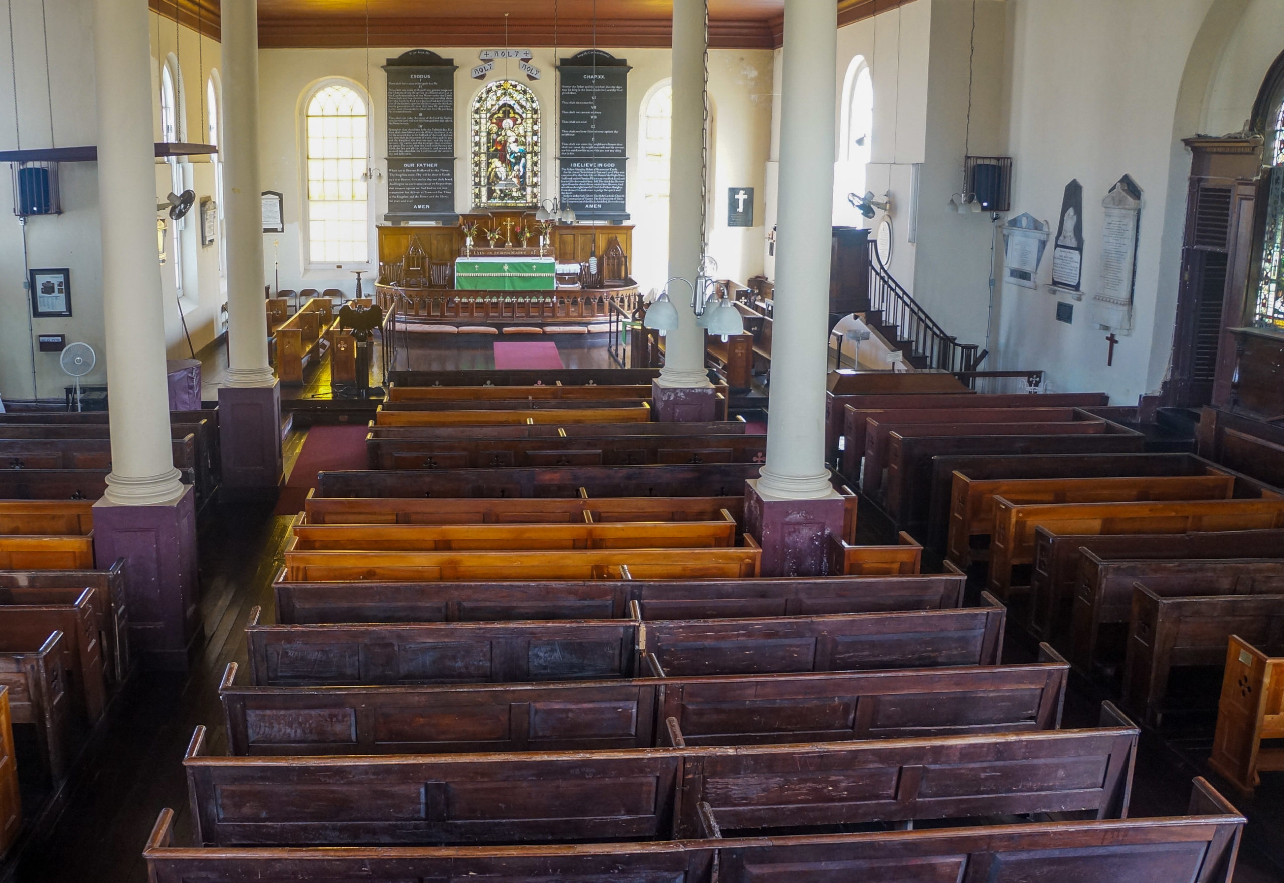 St Peters Anglican Church Interior