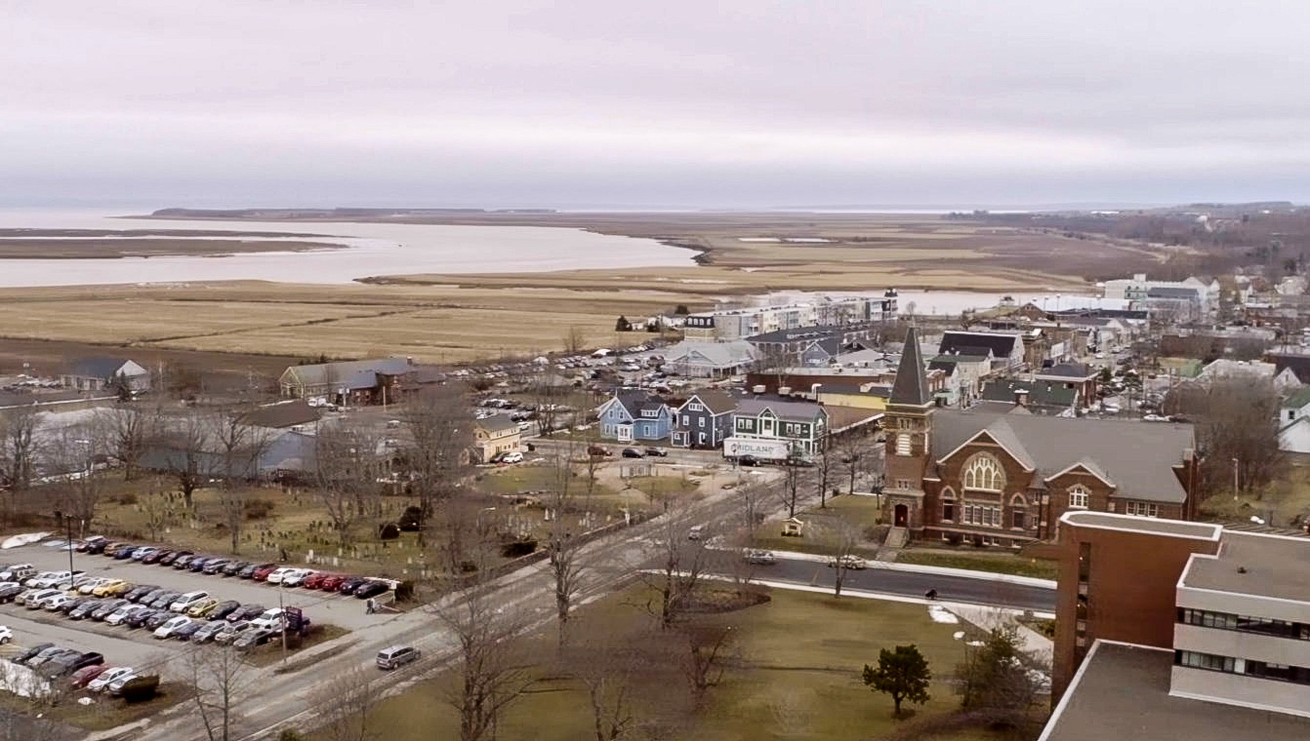 Wolfville Aerial Photo