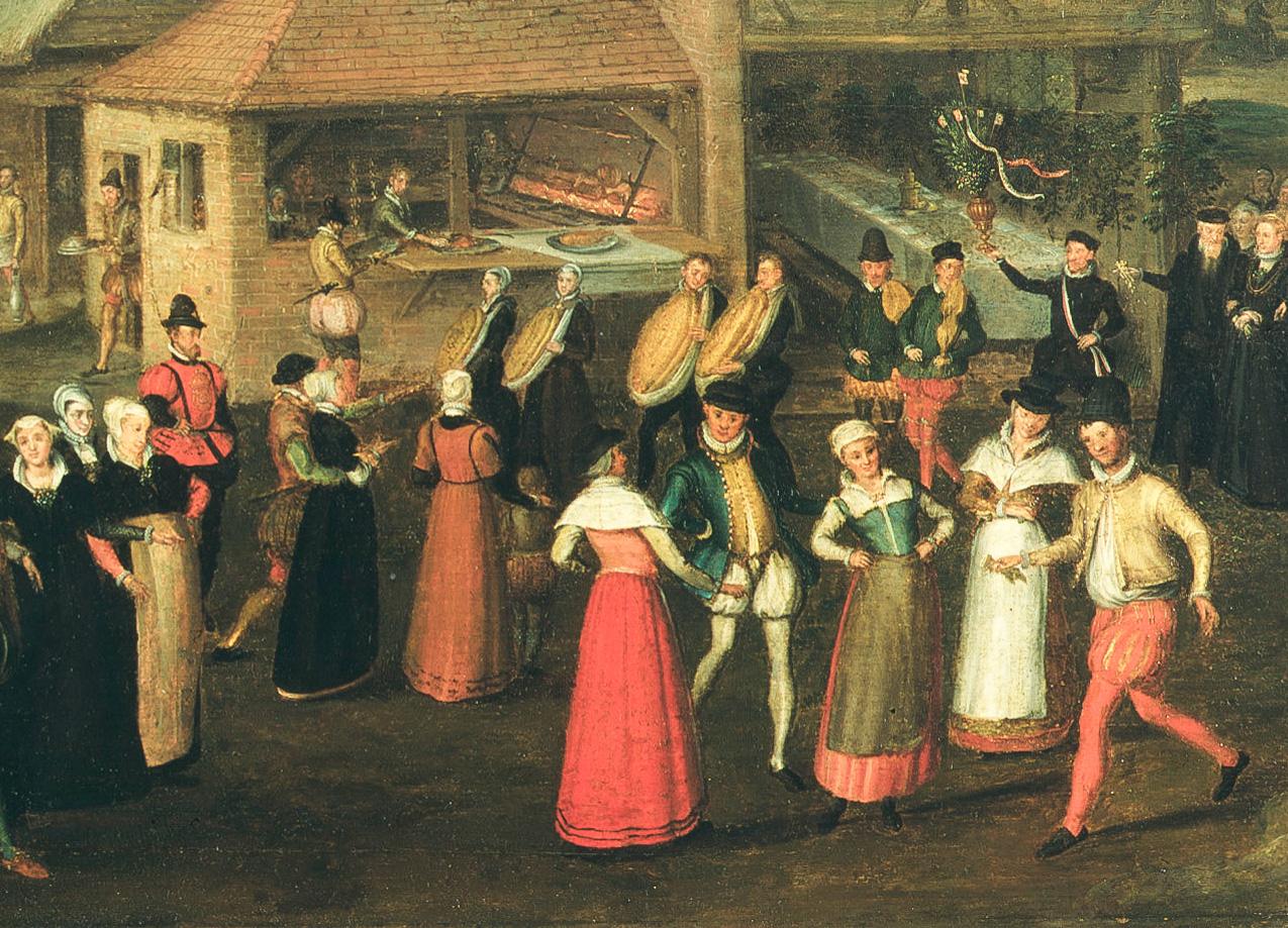 Fete at Bermondsey 1569