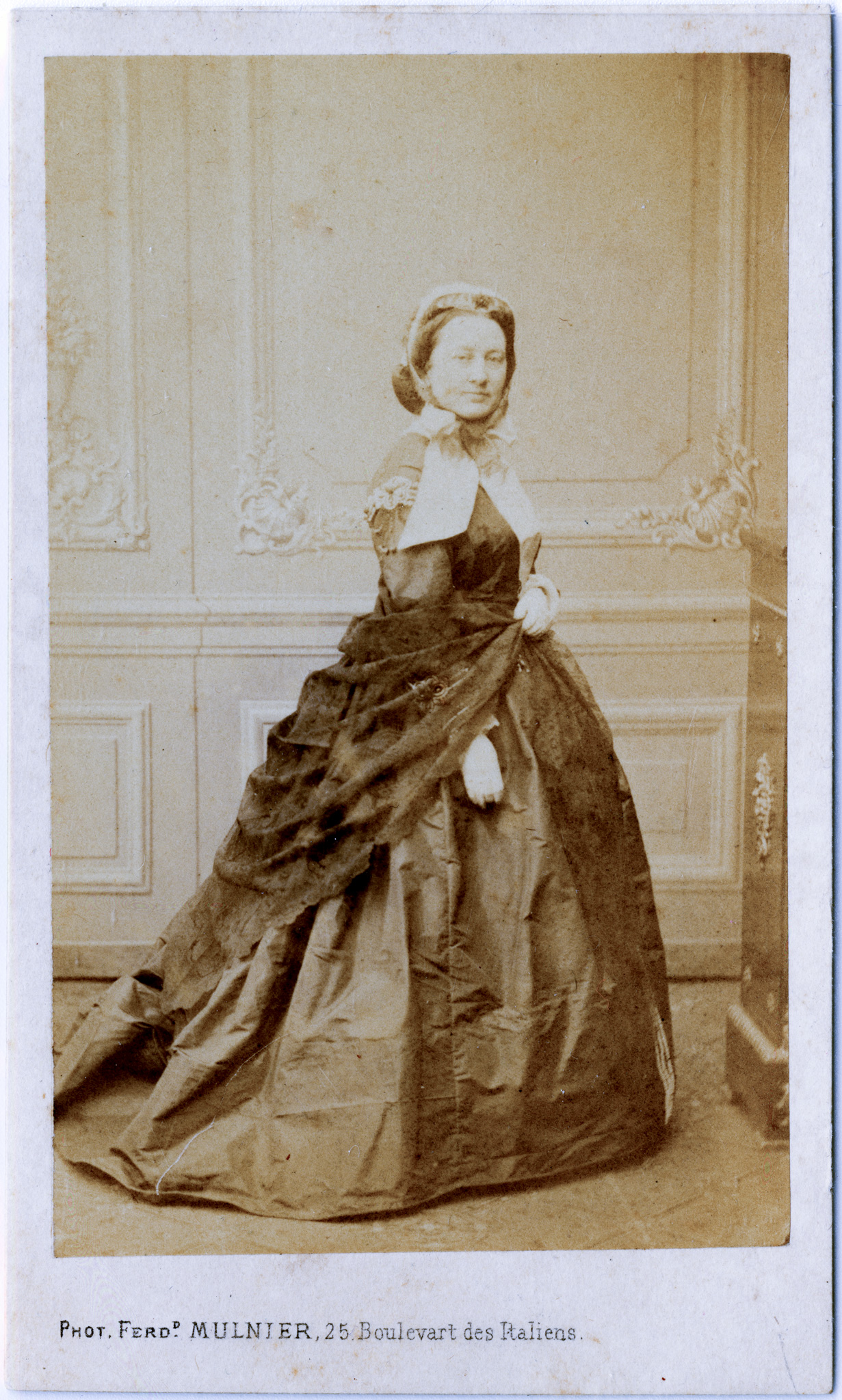 Hester (Runnels) Baker in France