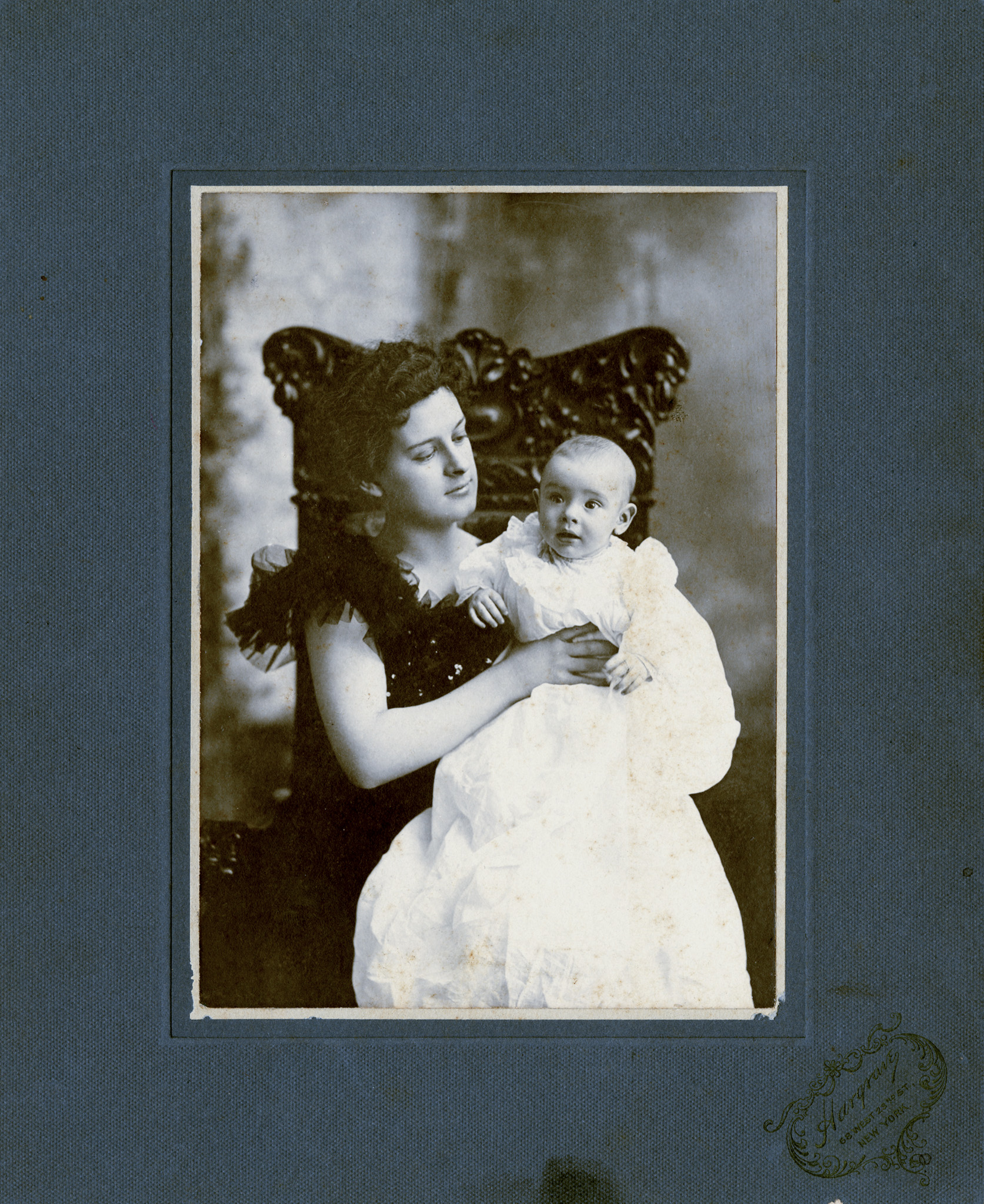 Emma Turner and son, William in 1897