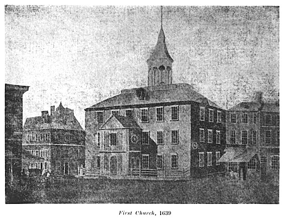 First Church Boston 1639