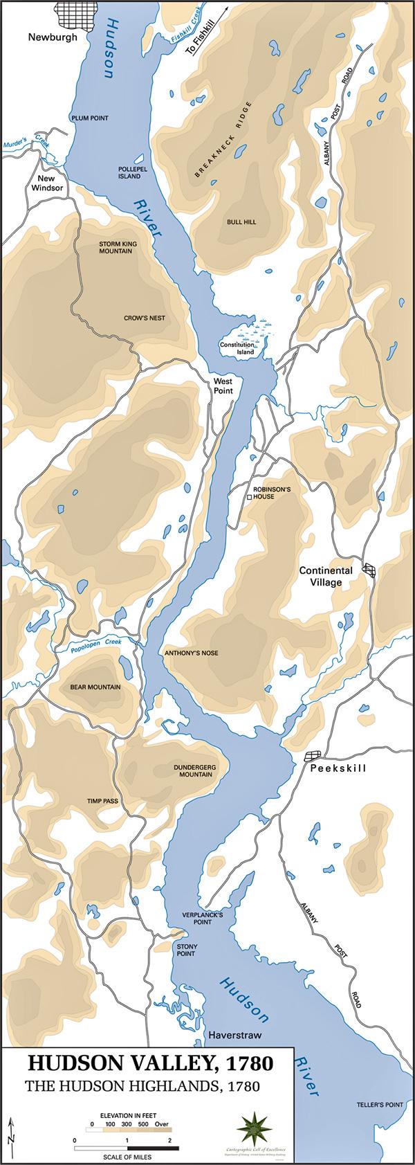 Hudson Highlands 1780