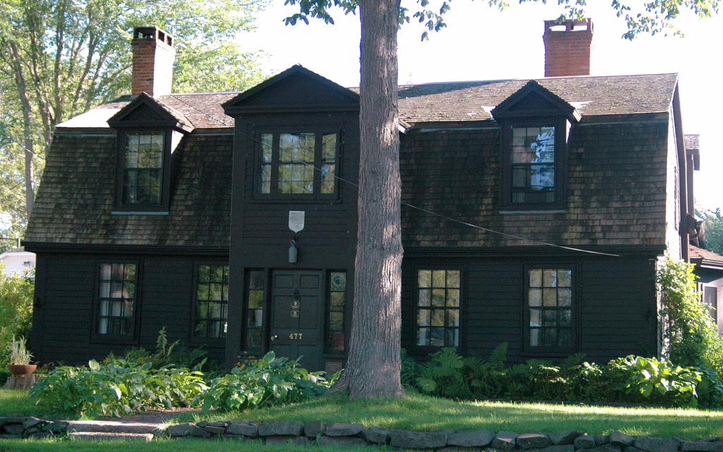 deGannes-Cosby House, home of Cyrus Perkins