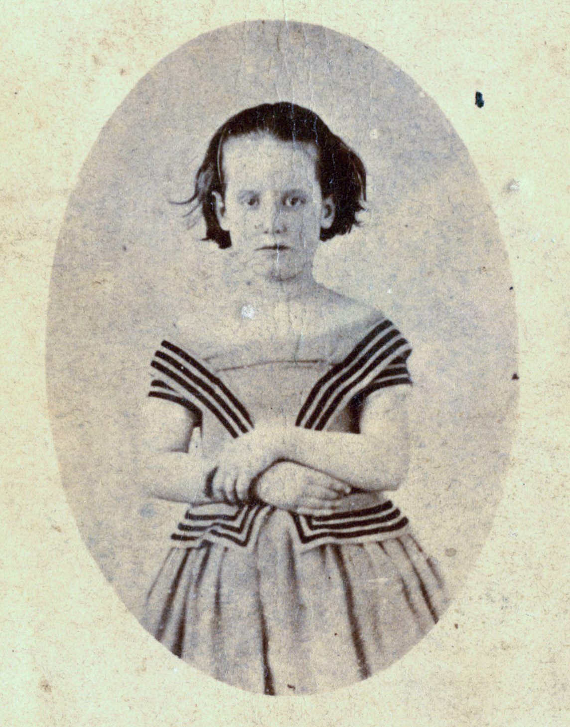 Half-length Portrait of Lucy Baker in 1864
