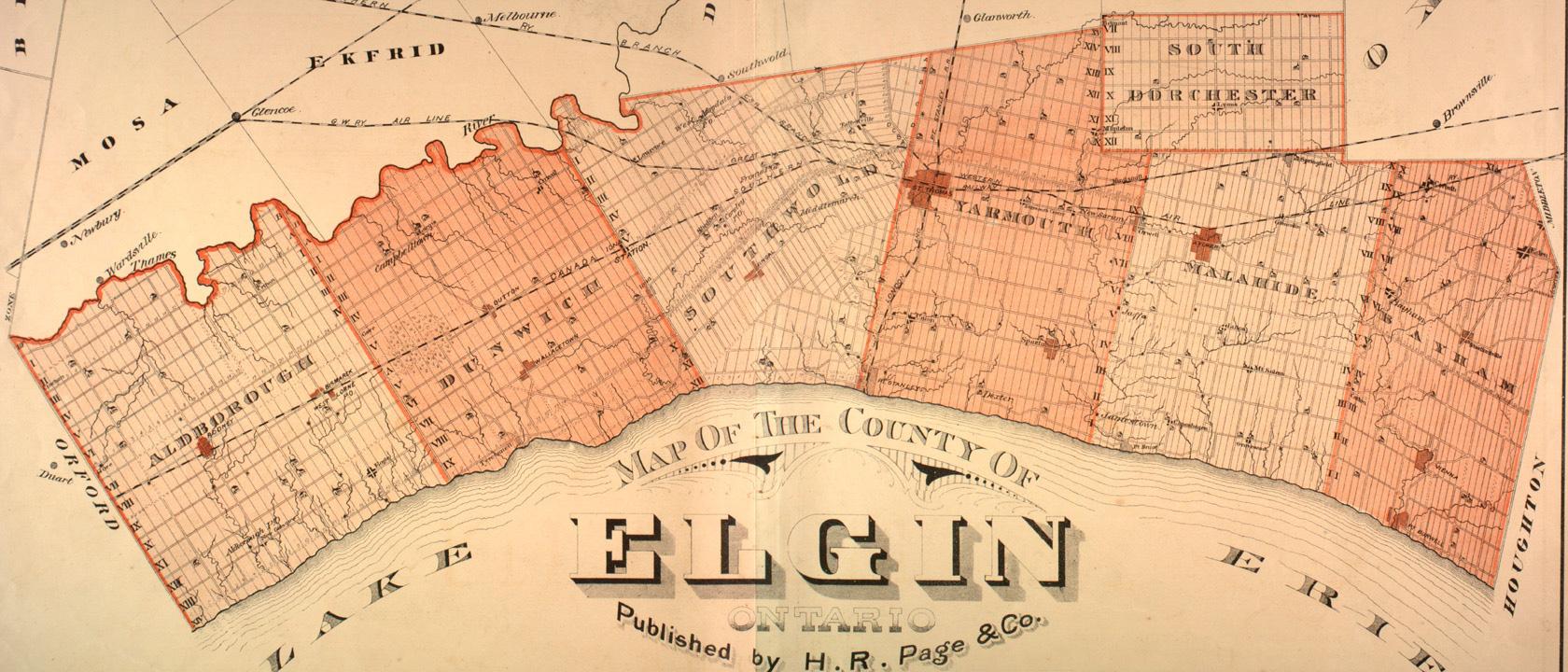 Elgin County Map