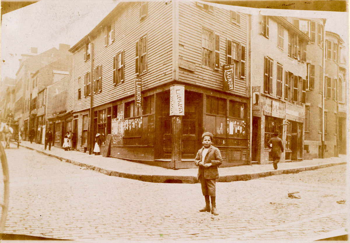 Corner of Prince and Salem Streets in 1893