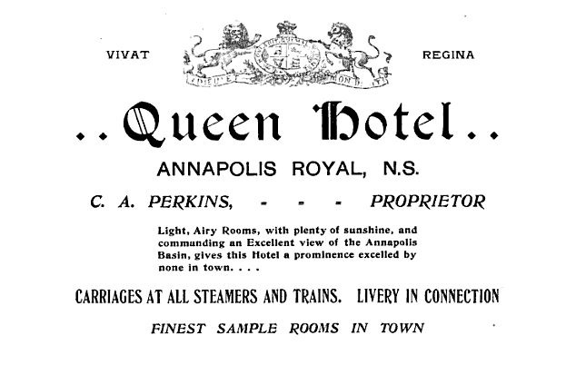 1897 Ad for Queen Ann Hotel
