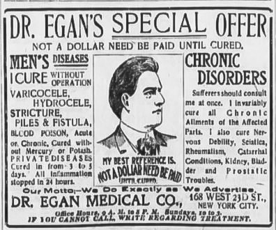 Egan Medical Company Ad