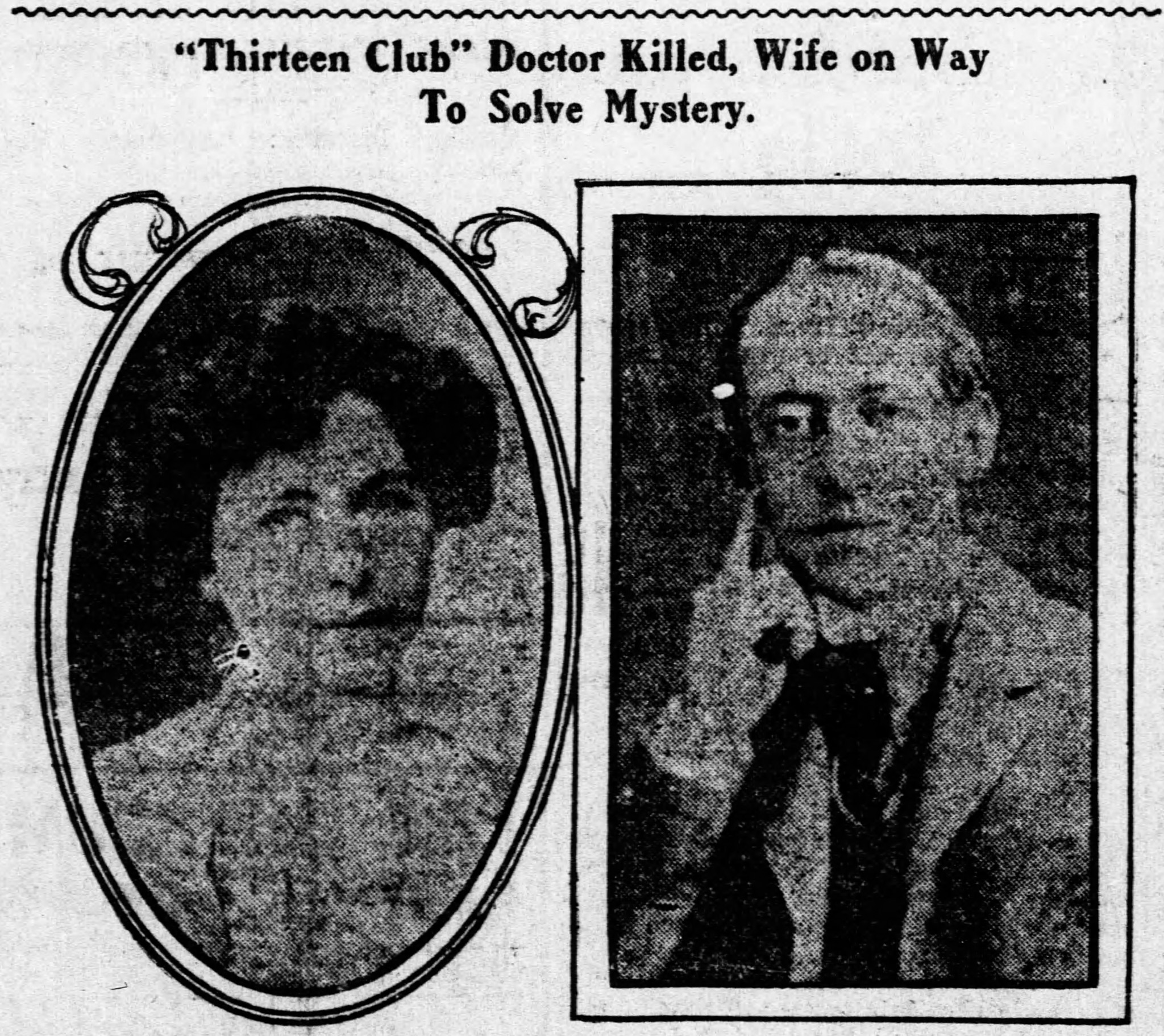 William B Turner Newspaper Death Notice with Photos