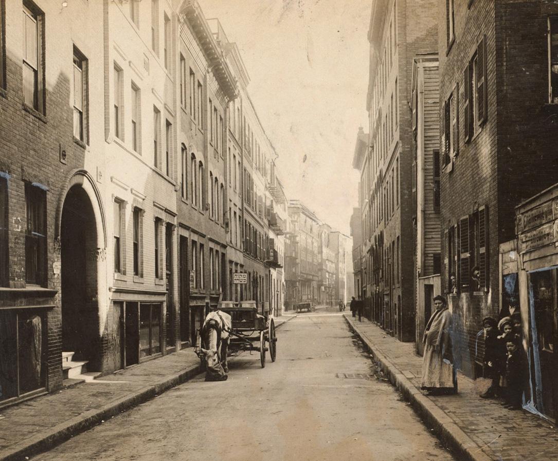 Barton Street to towards Leverett, 1910