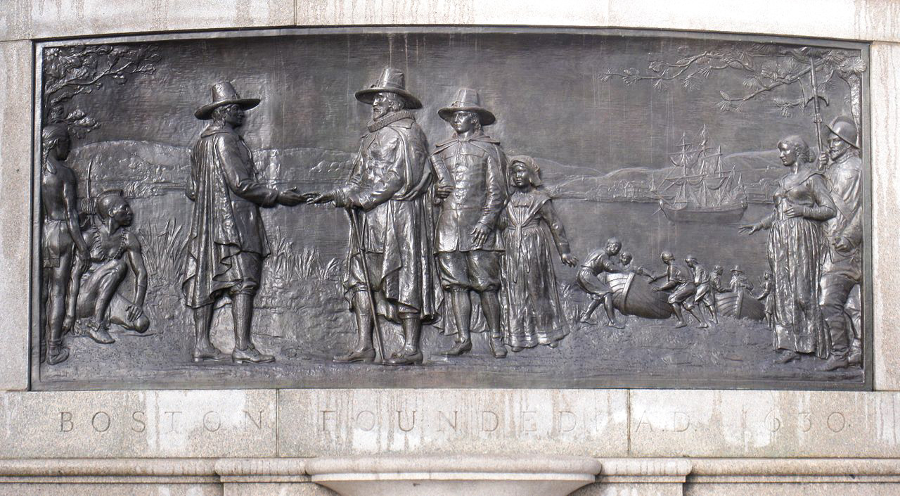 Founders Memorial at Boston Common
