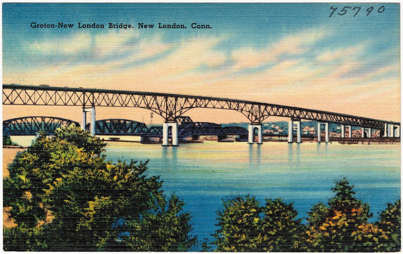 19430000 Groton-New London Bridge