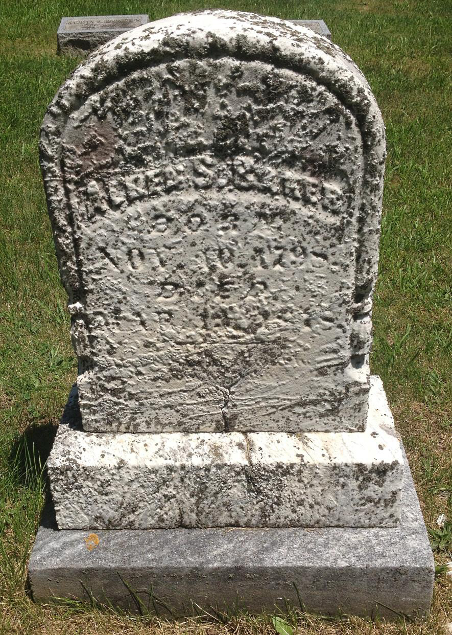 Alden S Baker Gravestone