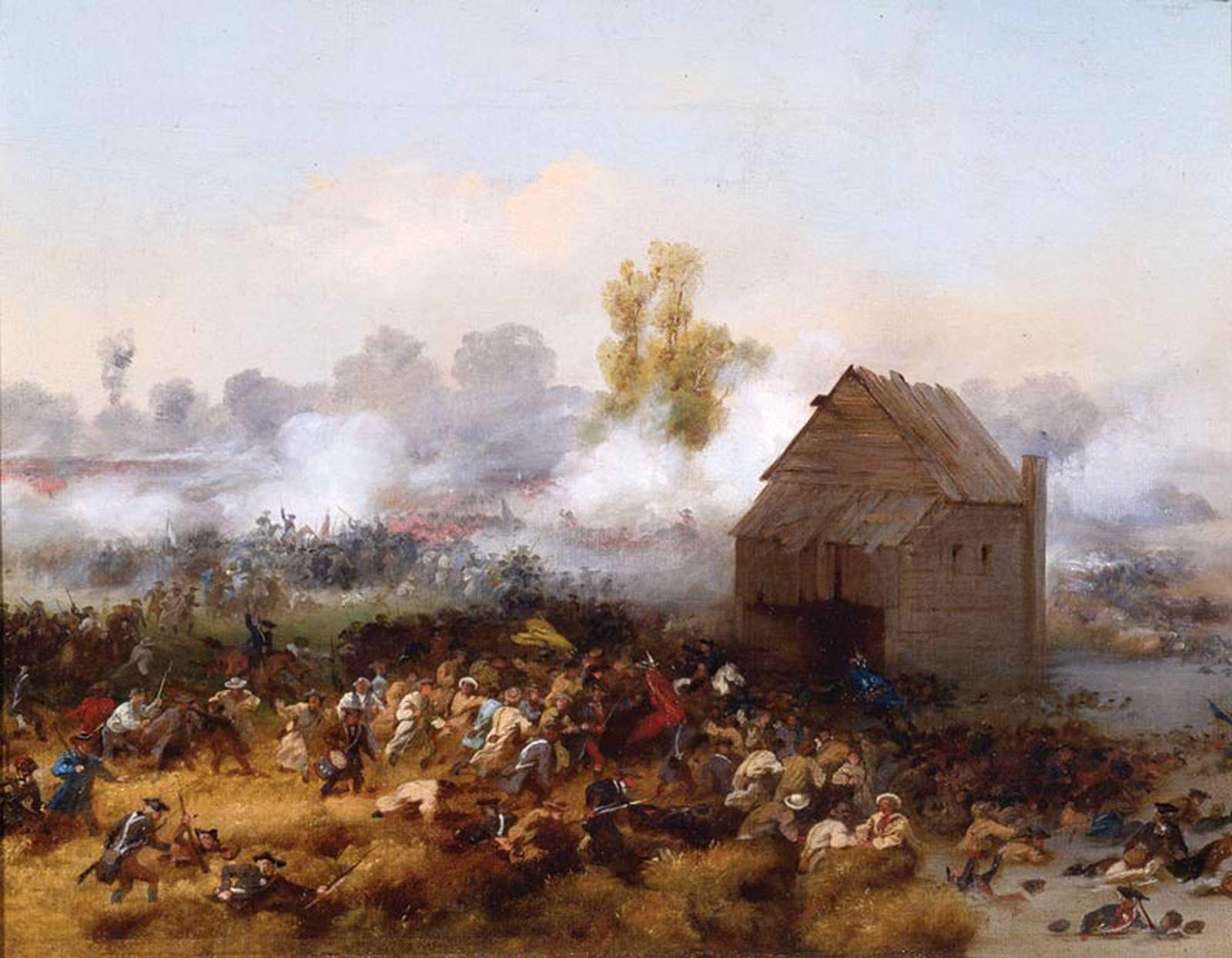Battle of Long Island by Alonzo Chappel