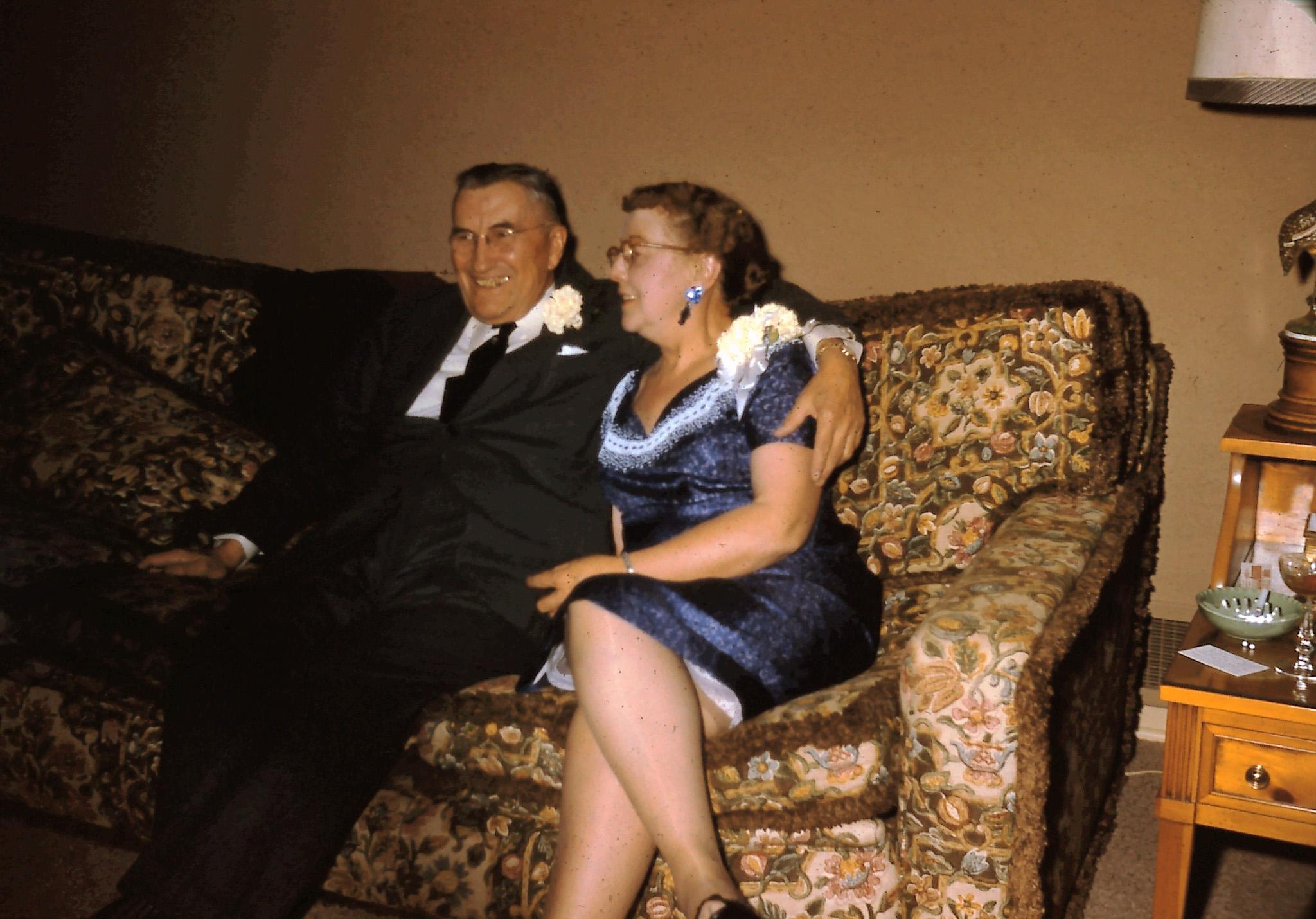 Charles and Adleen Nicklos (photo courtesy of Nancy Carpenter)