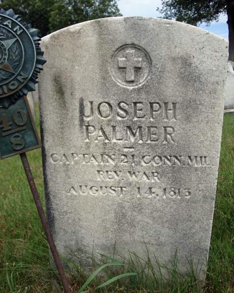 Joseph Palmer Gravestone