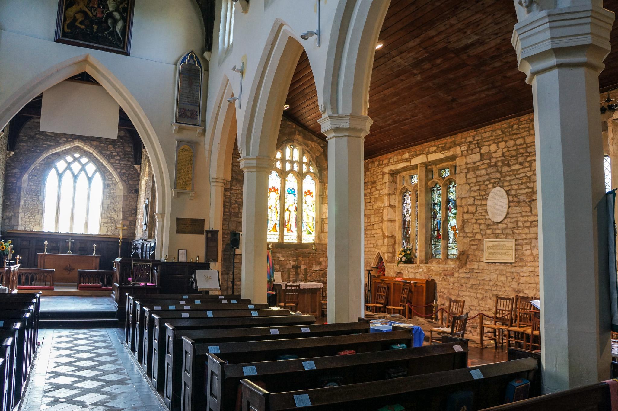 Interior View of St John the Baptist Church 1