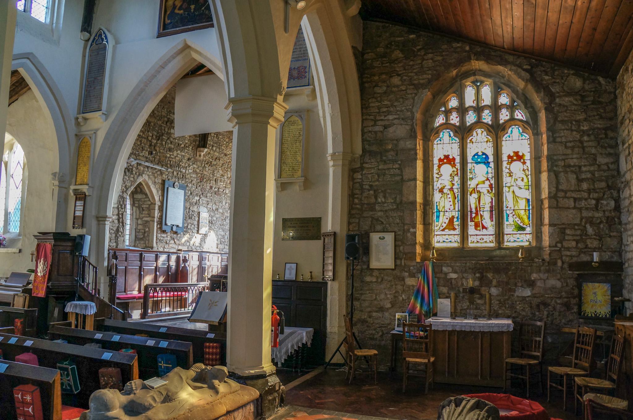 Interior View of St John the Baptist Church 2