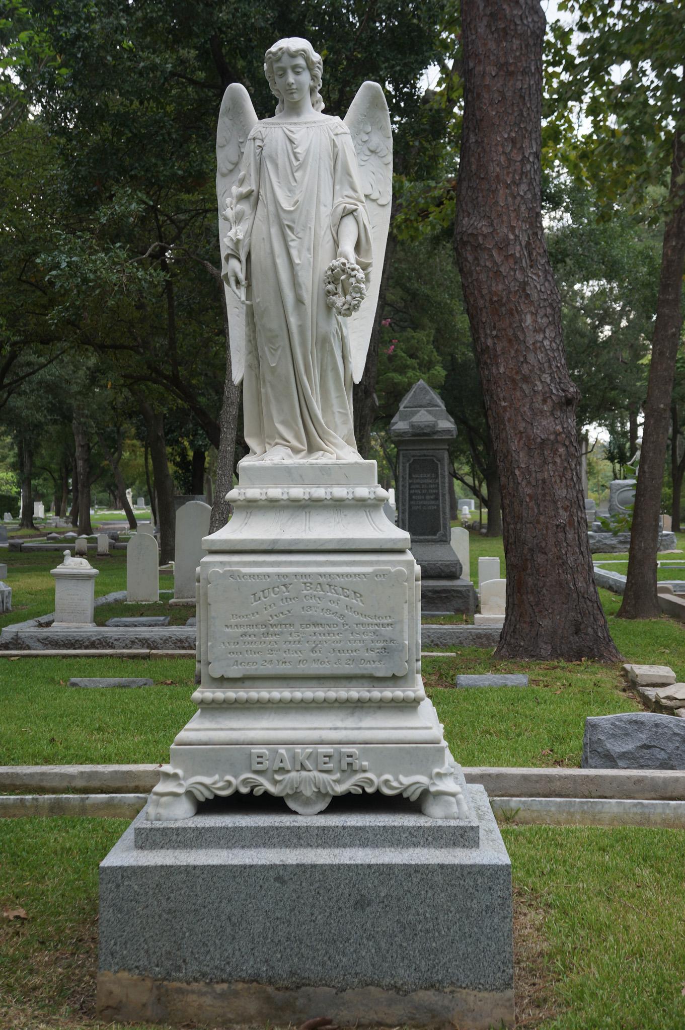 Lucy (Baker) Turner Grave Monument