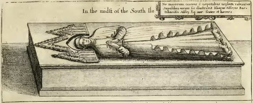 Editha Astley Effigy, 1656