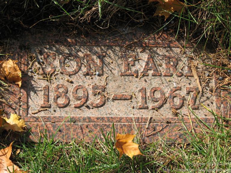 Earl Dunlop Headstone