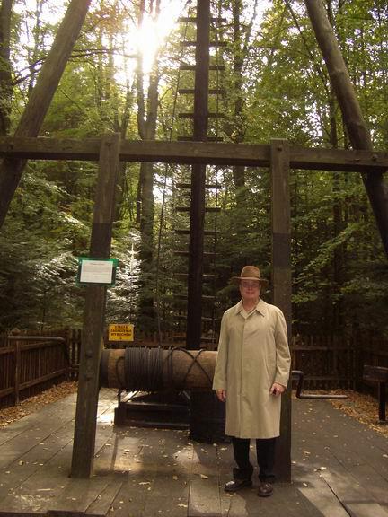 Jim Nicklos at Galacia Oil Museum