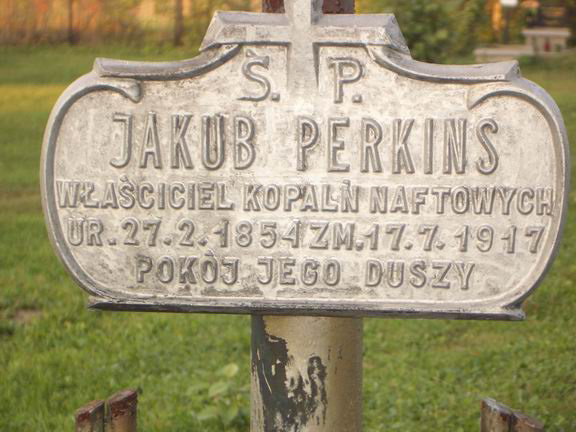Jacob Perkins Gravemarker