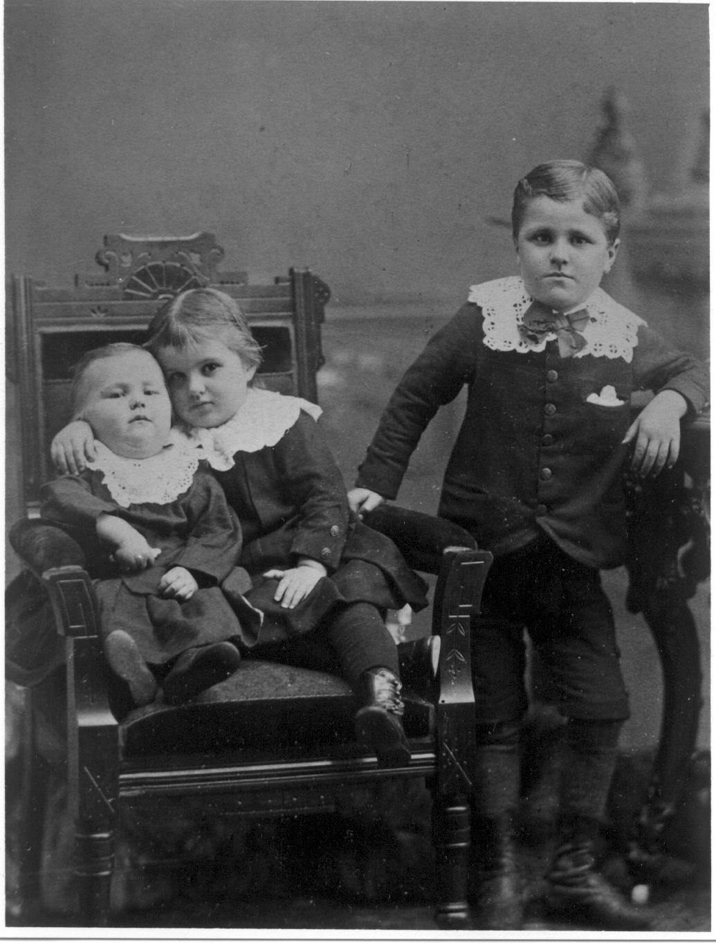 Ernest, Gertie, Fred Nicklos