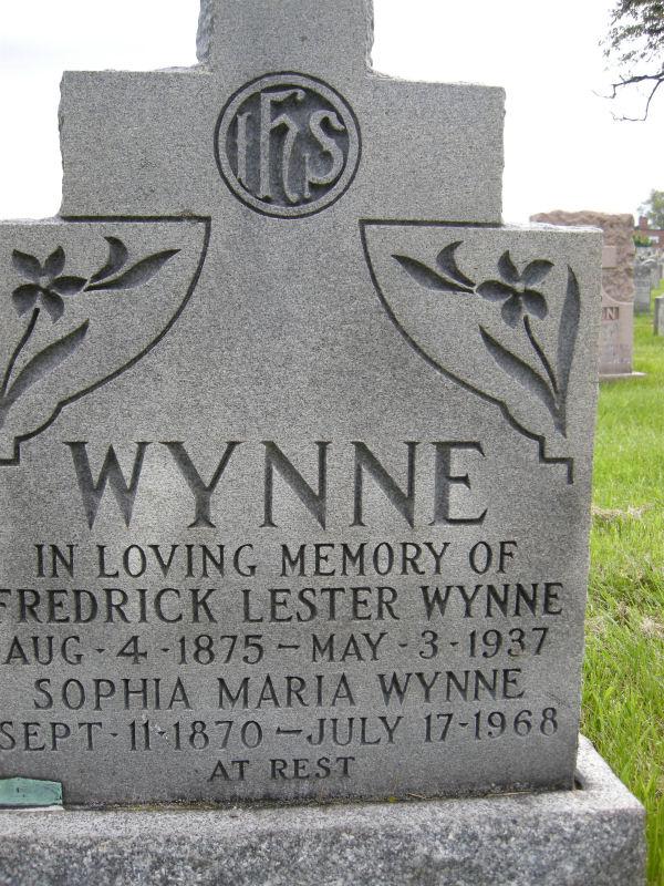 Fredrick & Sophia Wynne Gravestone
