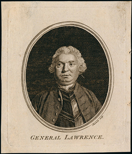 General Lawrence Etching