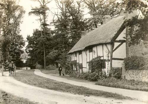 Half Timbered Cottage in Bilton, circa 1910