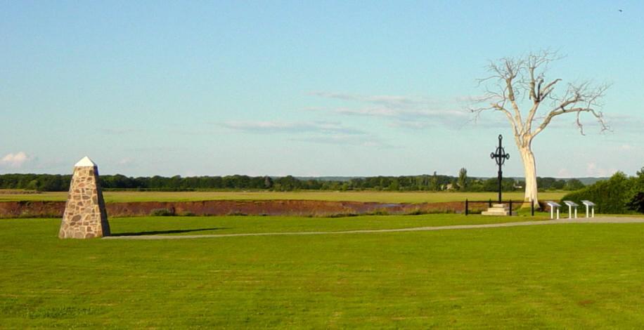 Horton Landing Monument