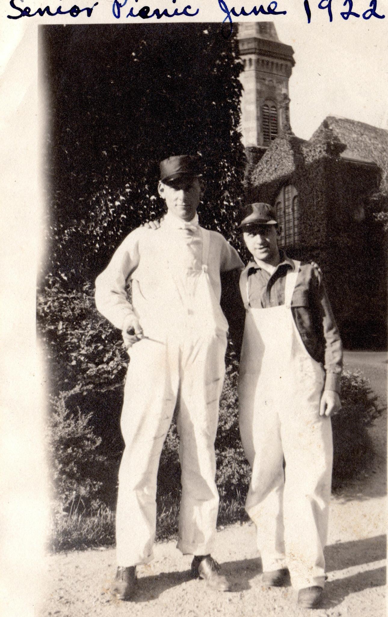 Harry Schwartz at College