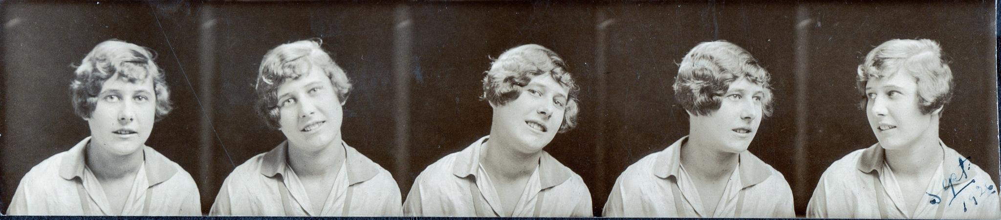 Mary Kadlecik at photo booth