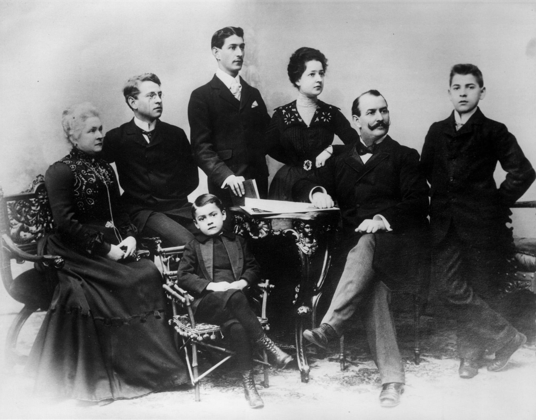 Jacob and Jenny Perkins Family