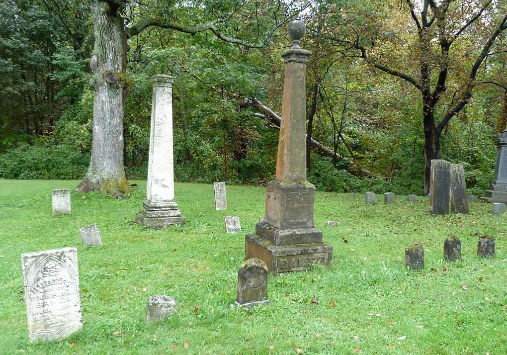 James & Mary Baker Family Grave Site