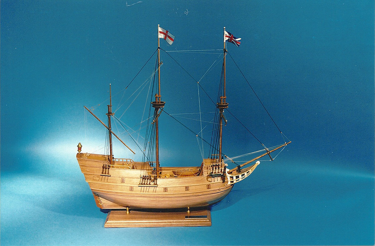Model of the John and Mary Ship
