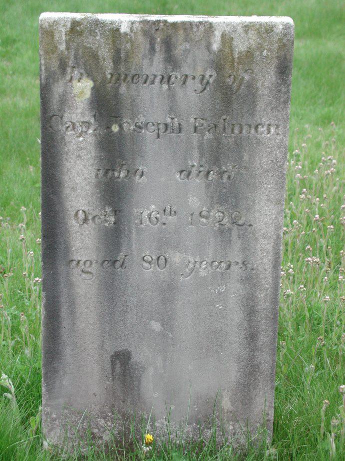 Gravestone for an Alternate Joseph Palmer