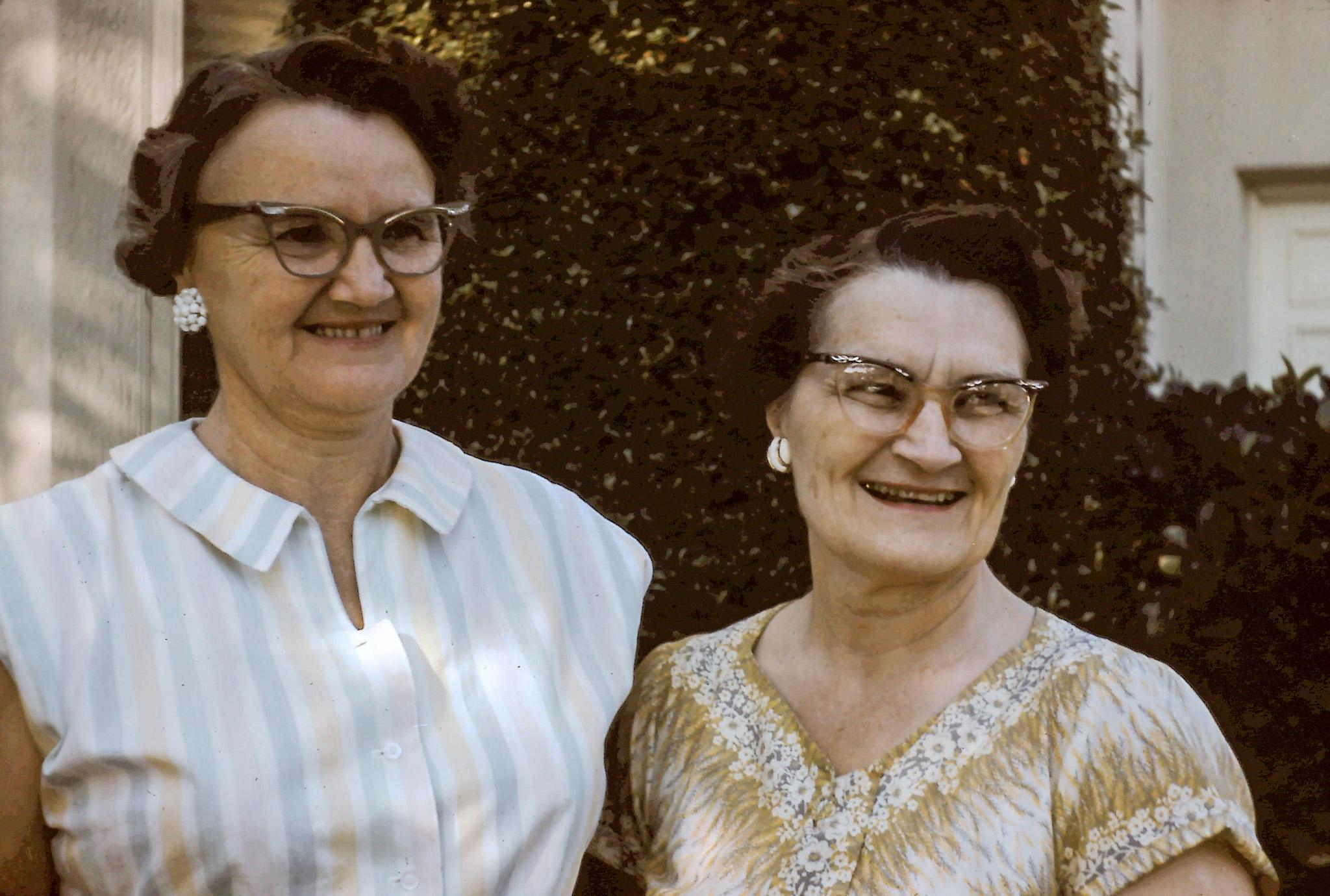Kathleen & Edith Nicklos