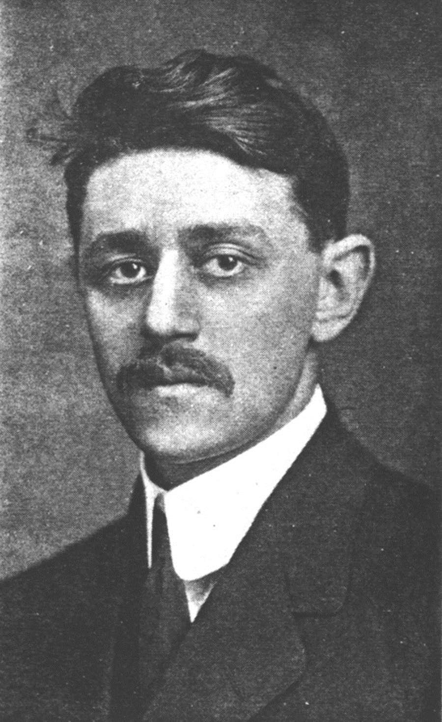 Lewis Schwartz at MIT, 1911
