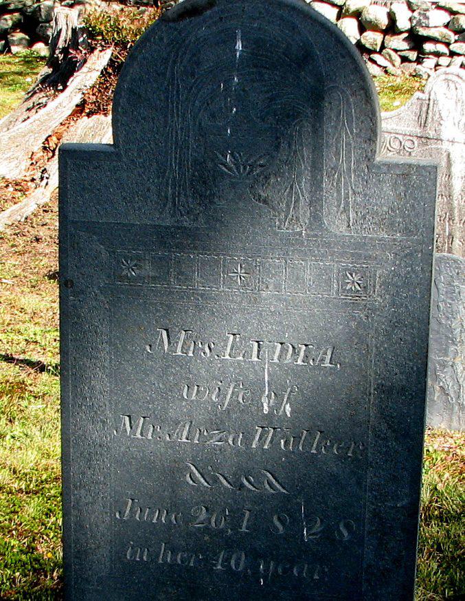 Lydia (Baker) Walker Gravestone