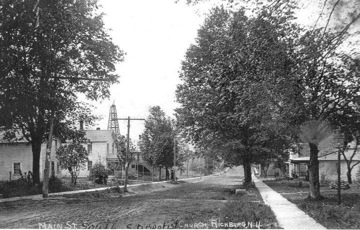 Main Street South circa 1900
