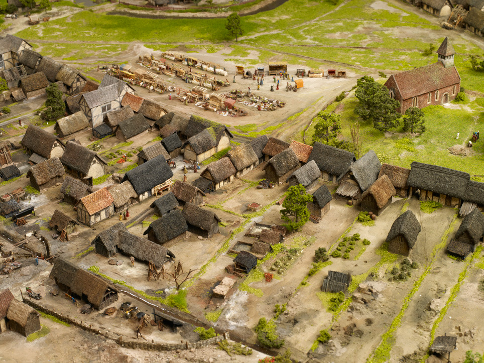 Medival Birmingham circa 1300
