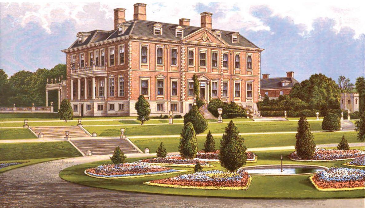 Melton Constable Hall, 1670