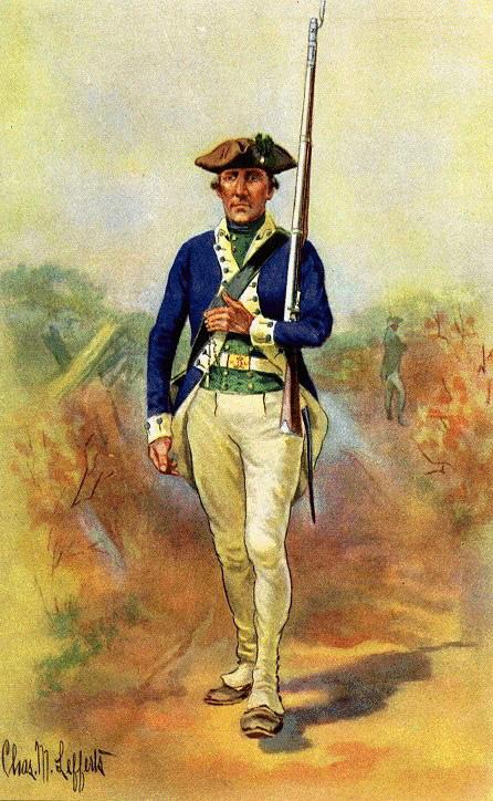 Military Dress of 2nd Massachusetts