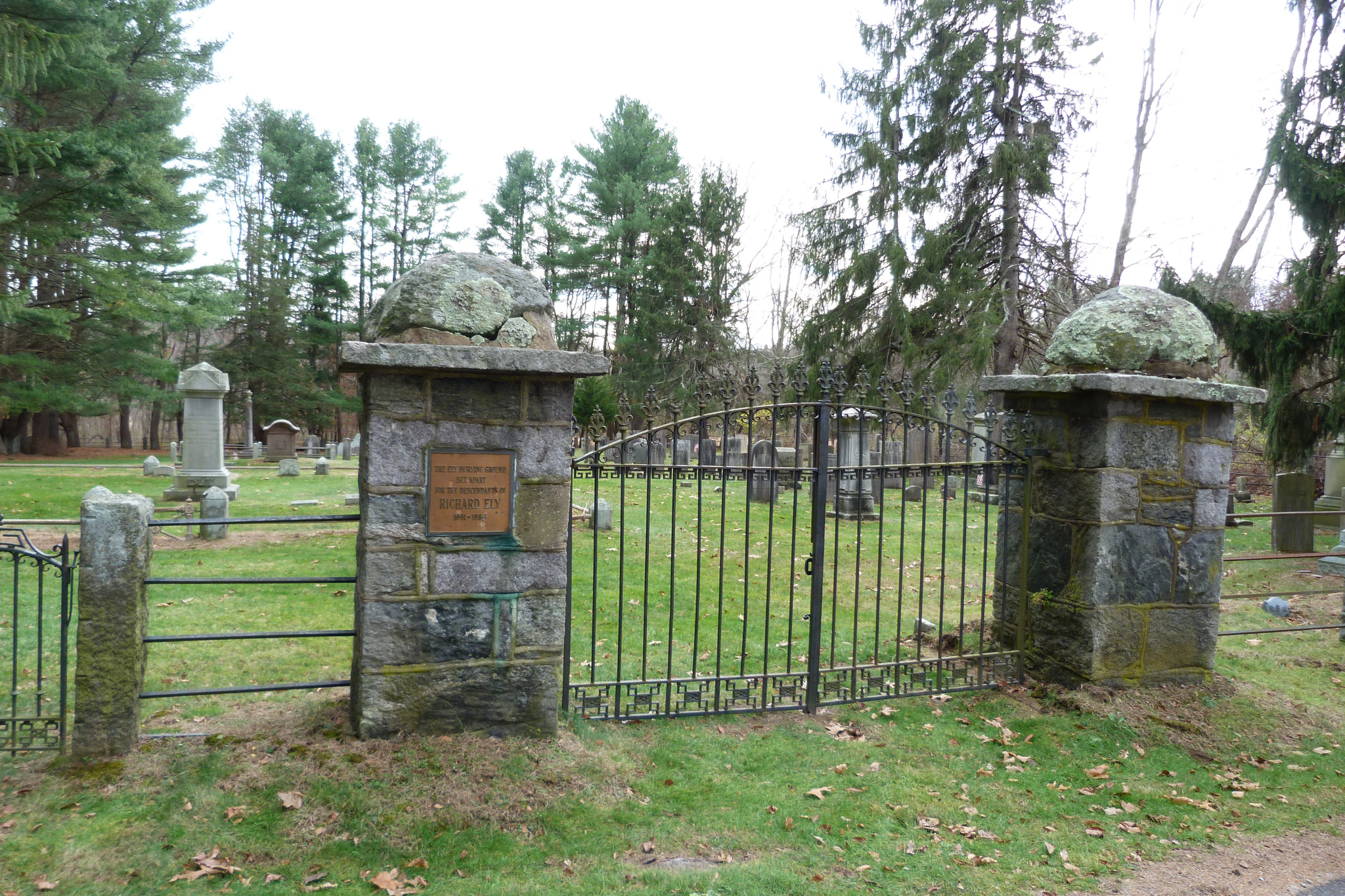 Ely Cemetery in Lyme CT