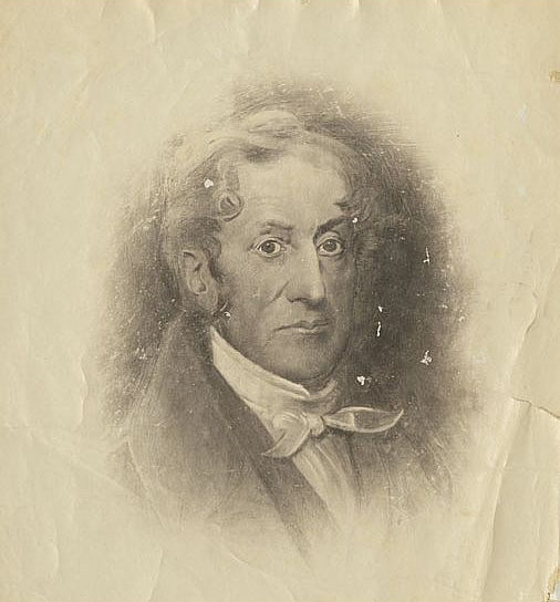 Probable Drawing of Cyrus Peck Perkins (1776-1817)