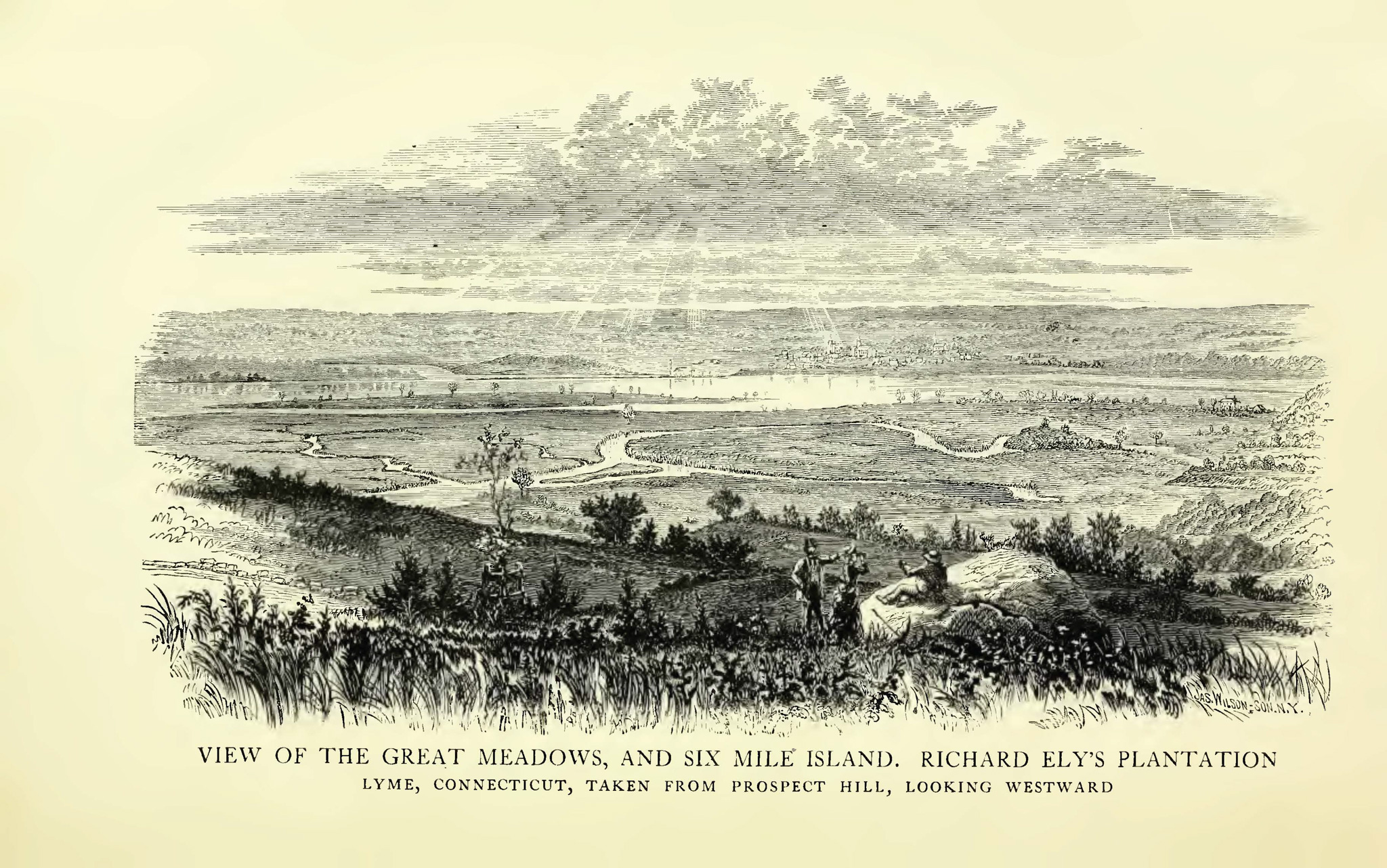 Richard Ely farm from The Ely Ancestry
