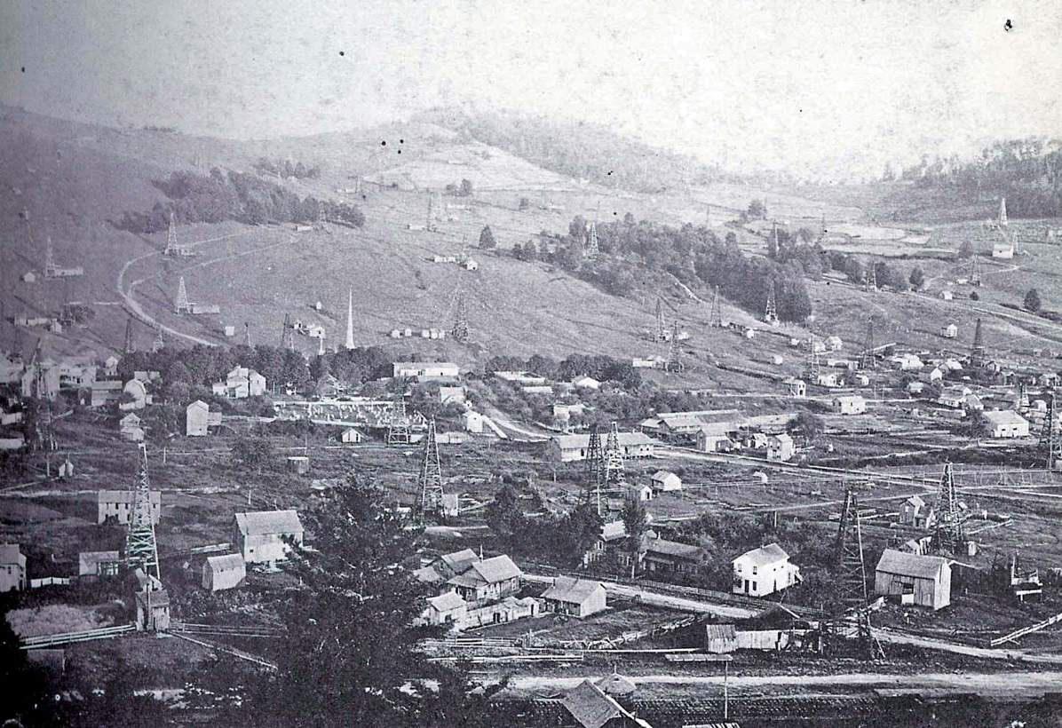 Richburg Oil Days circa 1890